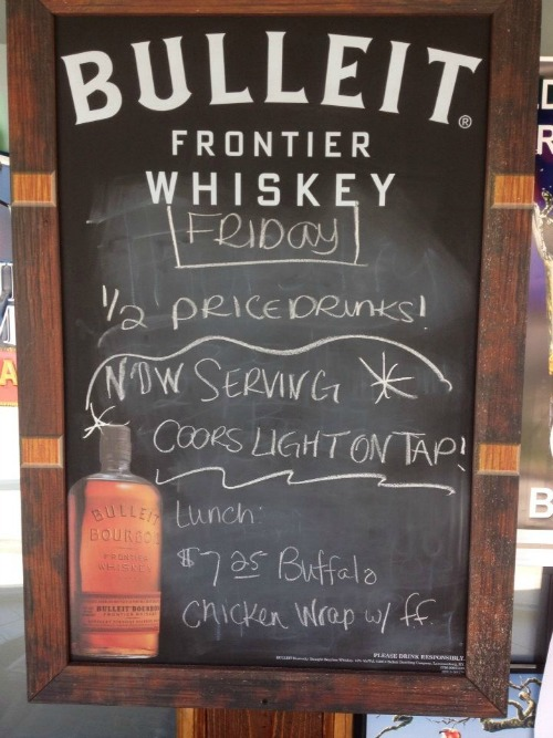 Friday's Special Board